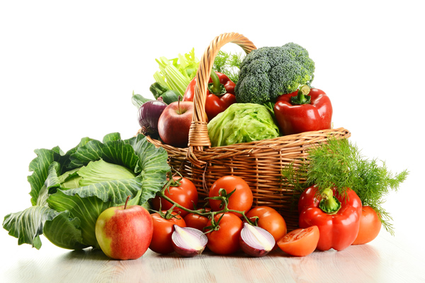 Farmer's IGA vegetable basket